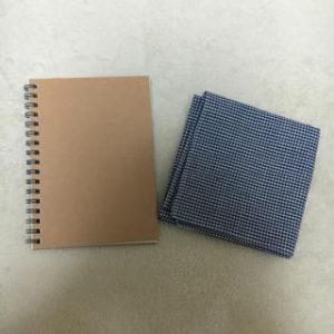 ハンカチとノート